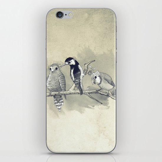 The Tree Stooges iPhone & iPod Skin