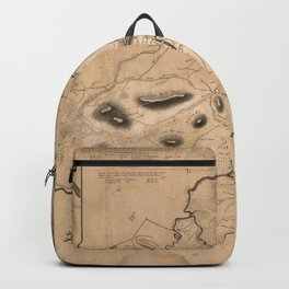 Map of Ipswich 1832 Backpack