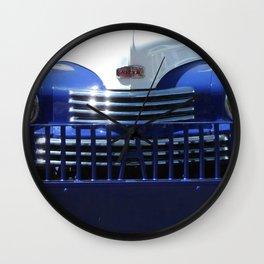 Nash, Grill, Truck, Old Nash Truck, Vintage Wall Clock