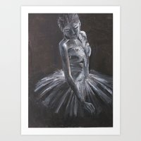 blair waldorf Art Prints featuring Blair by Anika Nagpal