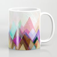 mountain Mugs featuring Graphic 104 by Mareike Böhmer