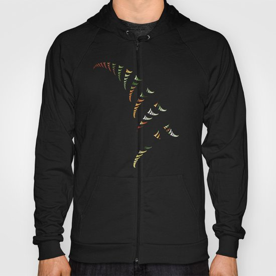Walking Stripes Hoody