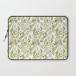 delicate floral pattern. Laptop Sleeve