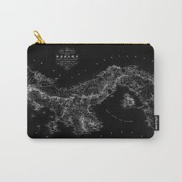 Panama Antique Map Carry-All Pouch