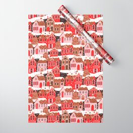 Gingerbread Village Wrapping Paper