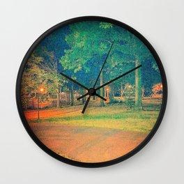 Thursday Night @ Clove Lakes Park Wall Clock