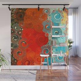 Swirls Galore Wall Mural