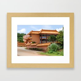Budhist Temple2 Framed Art Print