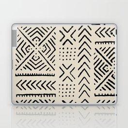 Line Mud Cloth // Bone Laptop & iPad Skin