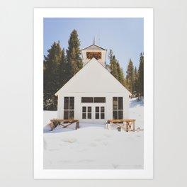 St. Elmo Town Hall Art Print