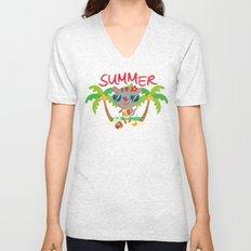 Hello, summer Unisex V-Neck