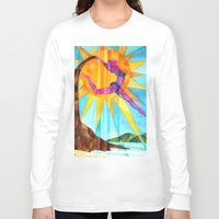 brand new Long Sleeve T-shirts featuring Brand New Day by Heather Torres Art