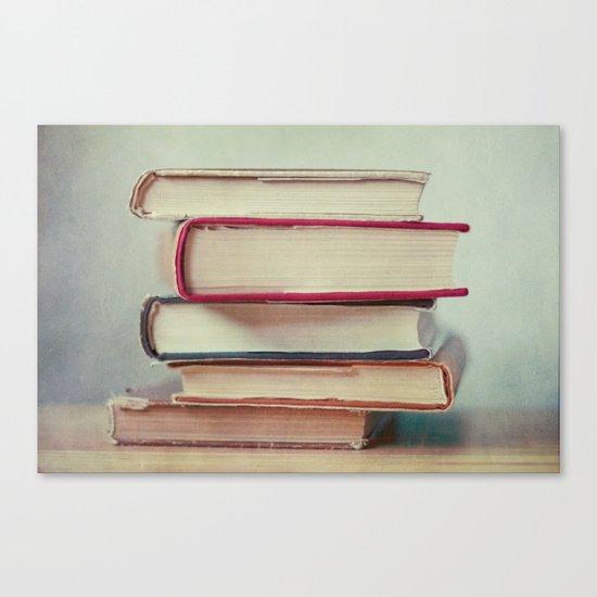 Books Love Canvas Print