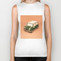 mini Biker Tanks featuring Mini Lowpoly by Nestor Ramos