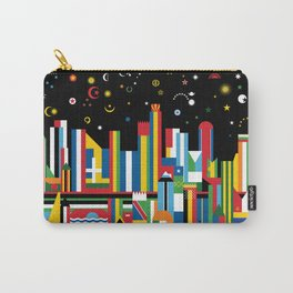 Flagscapes: World Cityscape Carry-All Pouch