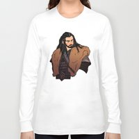 thorin Long Sleeve T-shirts featuring Thorin by rdjpwns