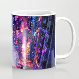 Cyberpunk City Coffee Mug