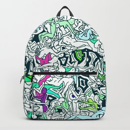 Kamasutra LOVE - Forest Green Backpack