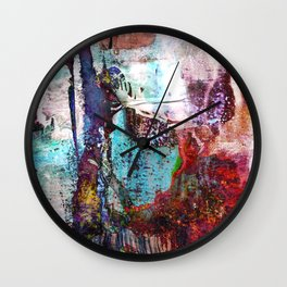 Birch Forest Dreamer Wall Clock