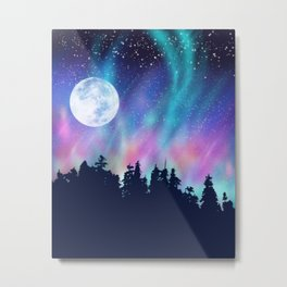 Moon Struck Metal Print