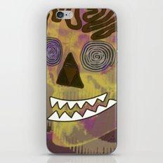 Skull in a Tubular Landscape iPhone & iPod Skin
