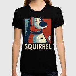 Squirrel Golden Retriever // Obama Hope, Dog for President, Elections T-shirt