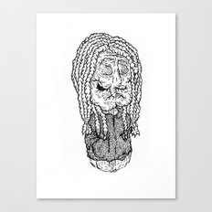 Bach is dead Canvas Print