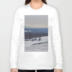 Wintertime in the Country Long Sleeve T-shirt