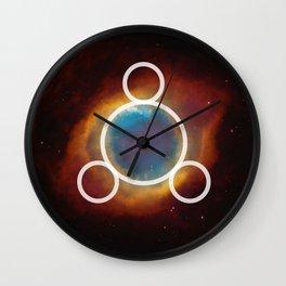 SILVER 10 Wall Clock