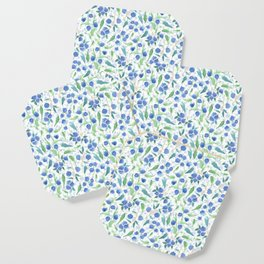Watercolor Blueberries Coaster