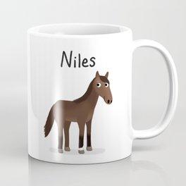"Custom Artwork, ""Niles"" Coffee Mug"
