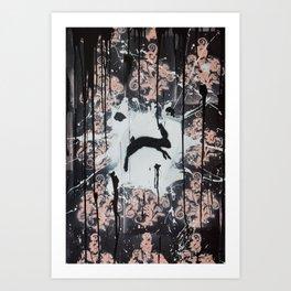 Field Jumper Art Print