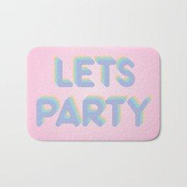 Lets Party Bath Mat