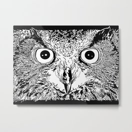The Elder Owl Metal Print