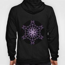 Purple Silk Snowflake Hoody