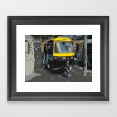 Baby Taxi Framed Art Print