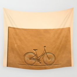 i like to ride my bicycle  Wall Tapestry