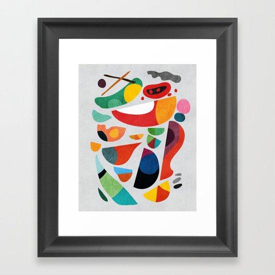 Still life from god's kitchen Framed Art Print