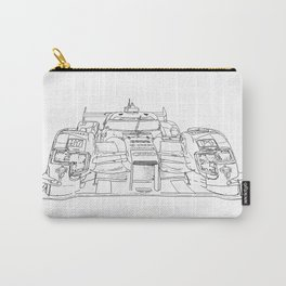race car drawing Carry-All Pouch