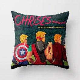 Chrises: The Musical Throw Pillow