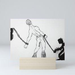 Mental Health Series: BiPolar Mini Art Print