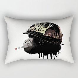 Born to kill Rectangular Pillow