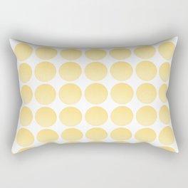 Yellow Balls Rectangular Pillow