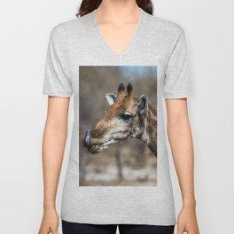 Giraffe 5 Unisex V-Neck