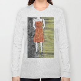 The girl in the dress. Long Sleeve T-shirt
