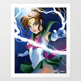 Supreme Thunder! Art Print
