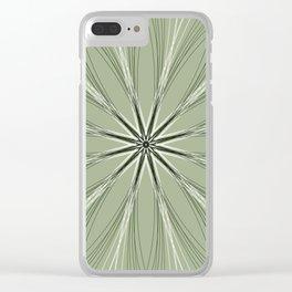 Gentle Geometric Flower - c13437.0 Clear iPhone Case