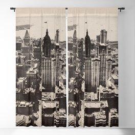 Lower Manhattan, New York City. 1914 Blackout Curtain