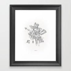 HABITATS Framed Art Print