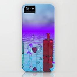 glass bottles iPhone Case